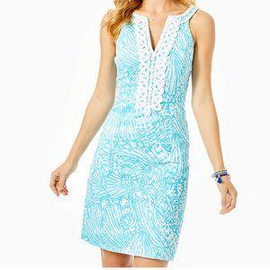 Lilly Pulitzer VALLI STRETCH SHIFT Dress 14